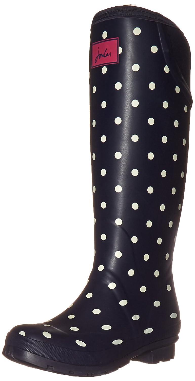 Joules Women's Neola Rain Boot B015JAHOMC 9 B(M) US|Navy Spot White