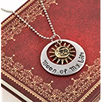 Nattypat My Sun and Stars Moon of My Life Game of Thrones Khal Stylish Pendant Necklace