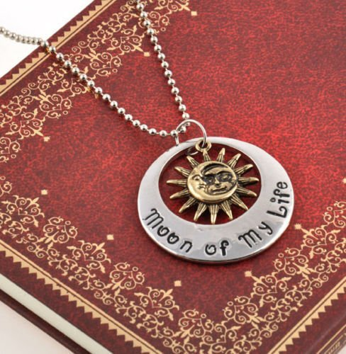 (Nattypat My Sun and Stars Moon of My Life Game of Thrones Khal Stylish Pendant Necklace)