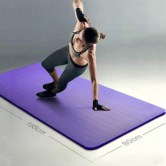 Amazon.com : Jzmai Yoga mat Non-Slip Yoga Mat Beginner Male ...