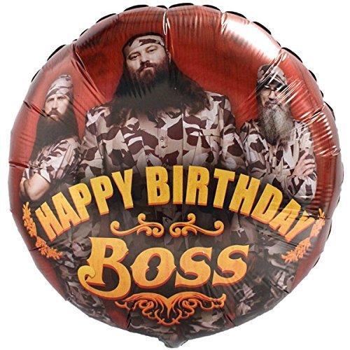 Duck Dynasty Happy Birthday Boss18