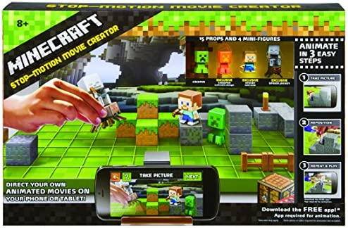 Replacement Phone Holder Mattel Minecraft Stop-Motion Movie Creator