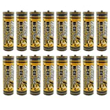 (16-Pack) HyperPS 1.2V AA 700mAh Ni-Cd NiCd Rechargeable Battery For NiCd Solar Panel Light Lamp, RC Toy