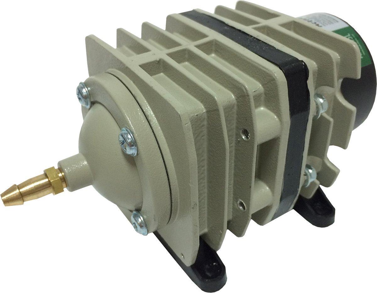 Hydrofarm AAPA45L Active Aqua Commercial Air Pump, 6 Outlets, 20W, 45 L/min