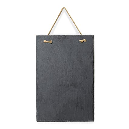 amazon com vintage frameless slate chalkboard sign 8 x12