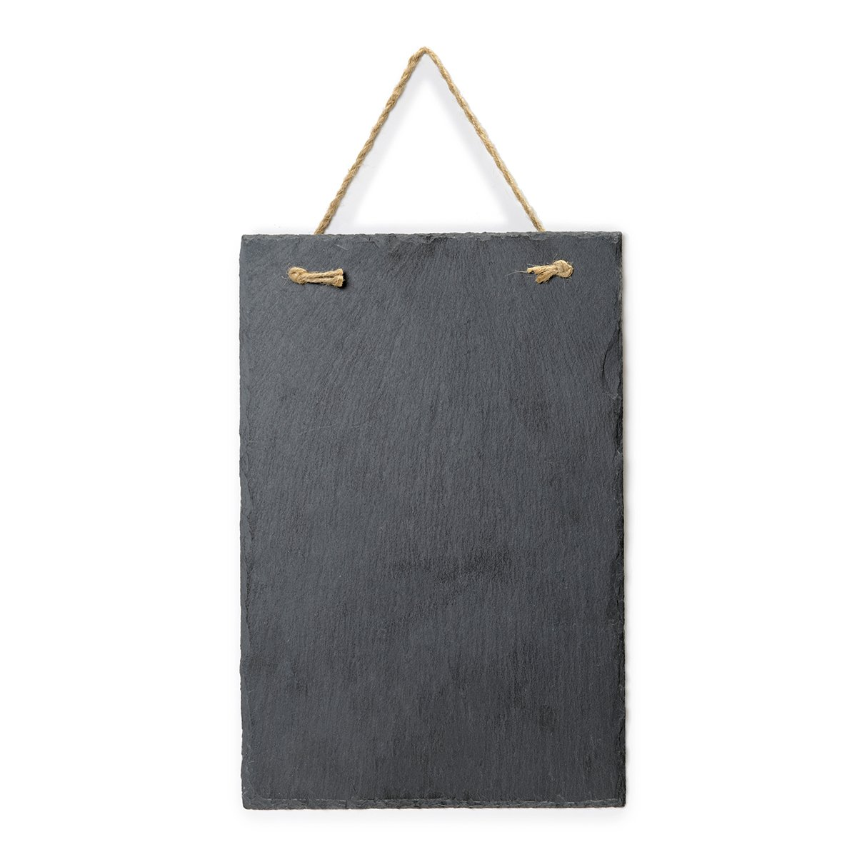 Vintage Frameless Slate Chalkboard Sign (8''x12'') - Decorative Hanging Chalk Board for Rustic Wedding Signs, Kitchen Pantry & Wall Decor by VersaChalk (Image #7)