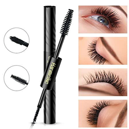 Amazon.com : 3D Fiber Mascara Watearproof Smudgeproof Hypoallergenic Fiber Long Curling Eyelash Extension Natural Midnight Black Makeup Mascara (black) : ...