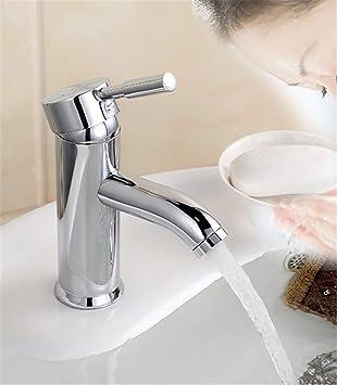 Chrom Wasserhahn Waschtischarmatur Eckig Waschbecken Waschtisch
