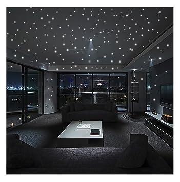 BakeLIN Fluoreszierende Aufkleber Sternenhimmel Leuchtpunkten ...