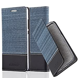 Cadorabo Funda Libro para Huawei P8 Lite 2015 en Azul