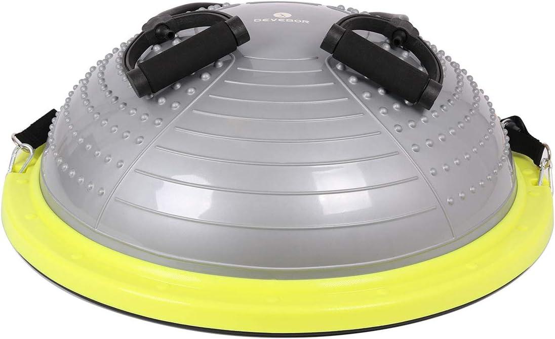 DEVEBOR Pro Massage Balance Ball Half Ball Balance Trainer