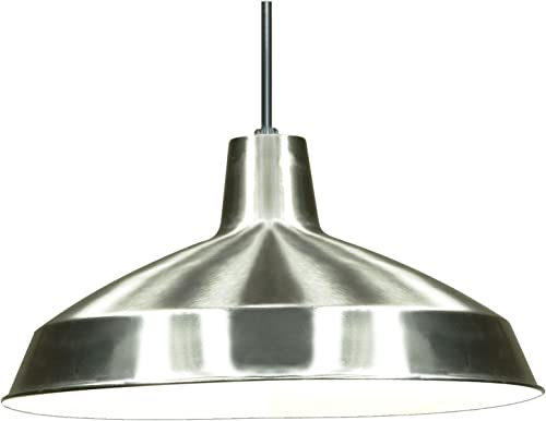 Nuvo Lighting SF76 661 Warehouse Shade, Brushed-Nickel