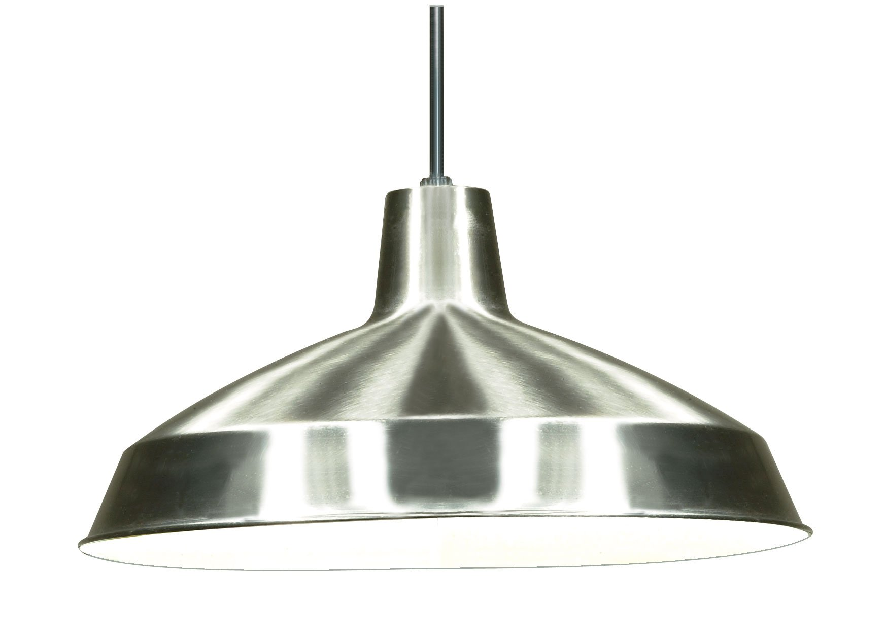 Nuvo Lighting SF76/661 Warehouse Shade, Brushed-Nickel by Nuvo Lighting
