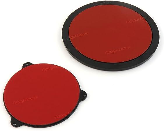 Pama Sticky Dash Mount Teller Klein Groß Selbstklebend Armaturenbrett Disks Für Saugfußhalterungen Handy Gps Satnav Tomtom Garmin 85 Mm 60 Mm Navigation