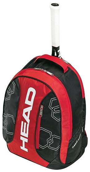 Head Elite Tennis Backpack red   black Size 23 x 18 x 45.5 cm ... 4ac399cfece1a