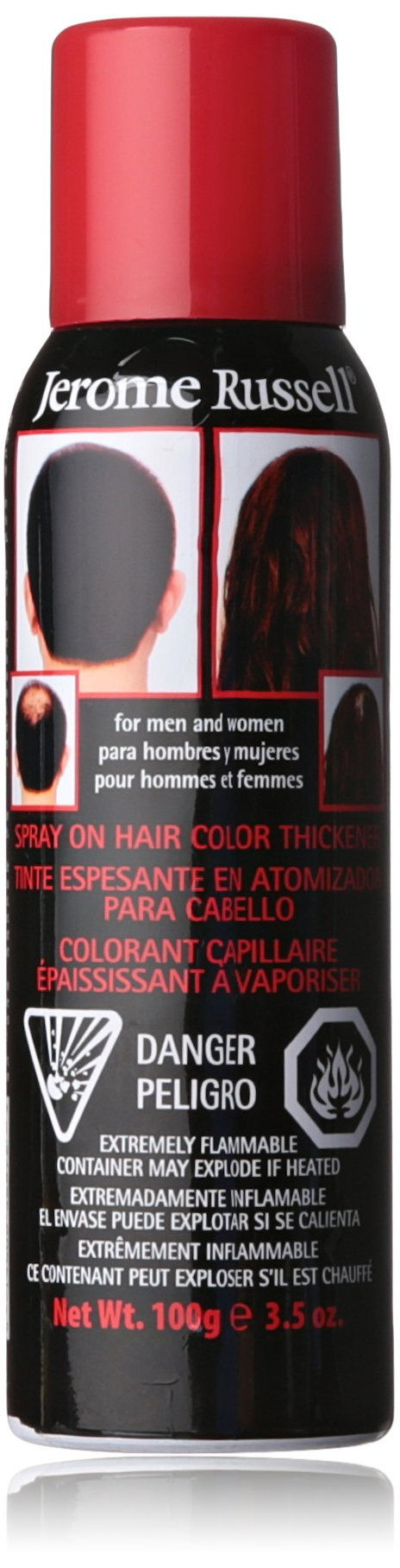 Amazon Jerome Russell Spray On Hair Color Thickener Medium