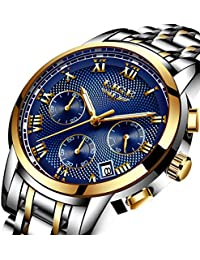 Watches,Mens-Watch Waterproof Stainless Steel Analog...