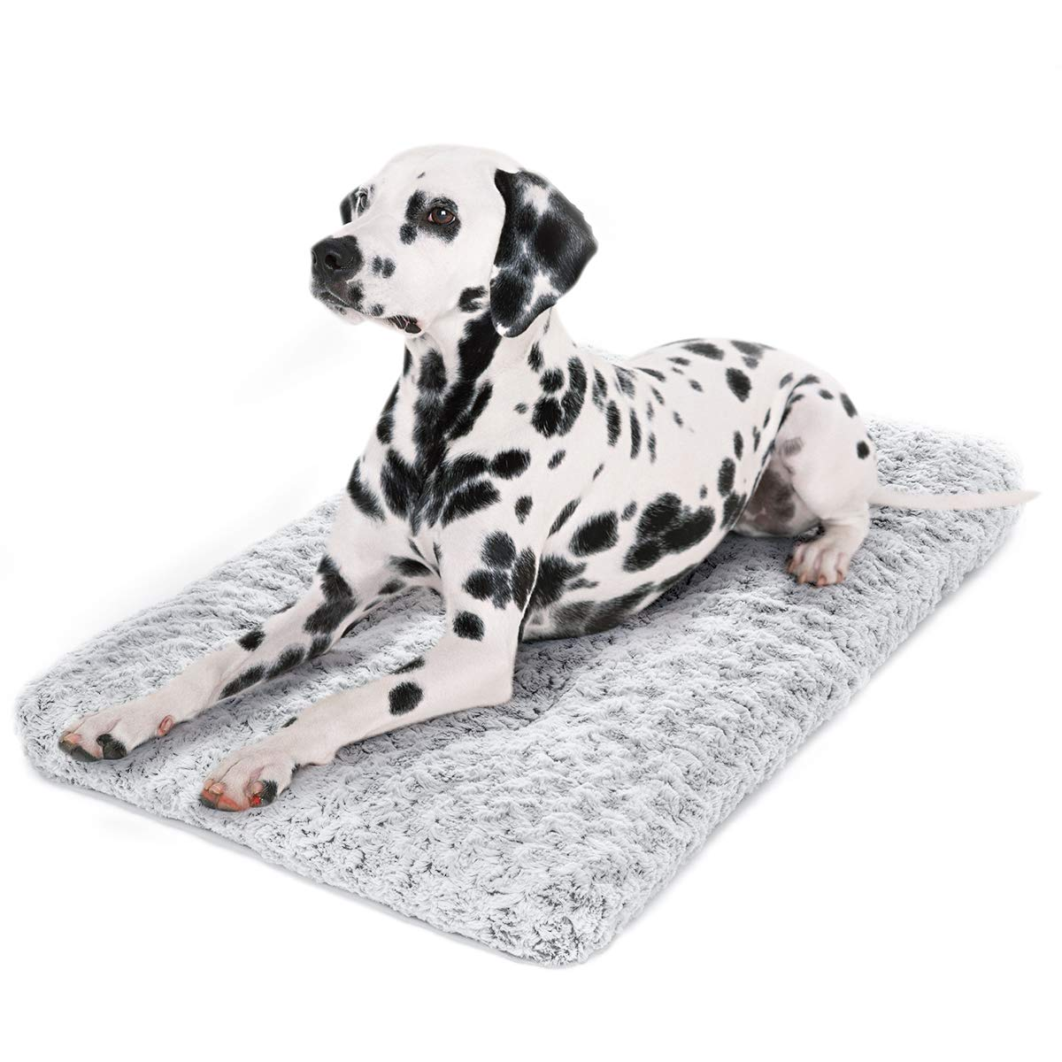 perpets Dog Bed Kennel Pad Washable Anti-Slip Crate Mat for Large Dogs and Cats (36-inch)