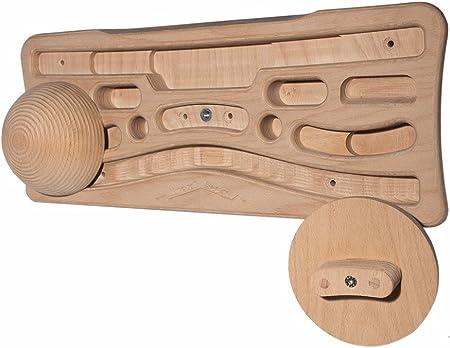 Kraxlboard Classic tabla de entrenamiento, a juego con presas romas (sloper)