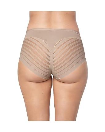fceaca14224e0 Leonisa Women's No Show Invisible Comfy Tummy Control Classic Panty ,Nude,Small