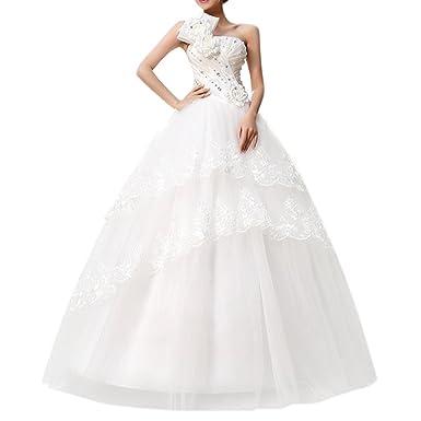 2015 Nouveau Robe Mariée Robe De Mariage Femme Blanc élégante Dentelle à Dos Nu Avec Des Fleurs