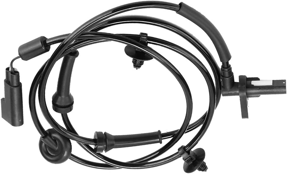 Car ABS Wheel Speed Sensor 6C112B372AB Front ABS Wheel Speed Sensor Transmission Speed Sensor Wiring Harness Fits for Fits for Transit FL//FR 2006-2015