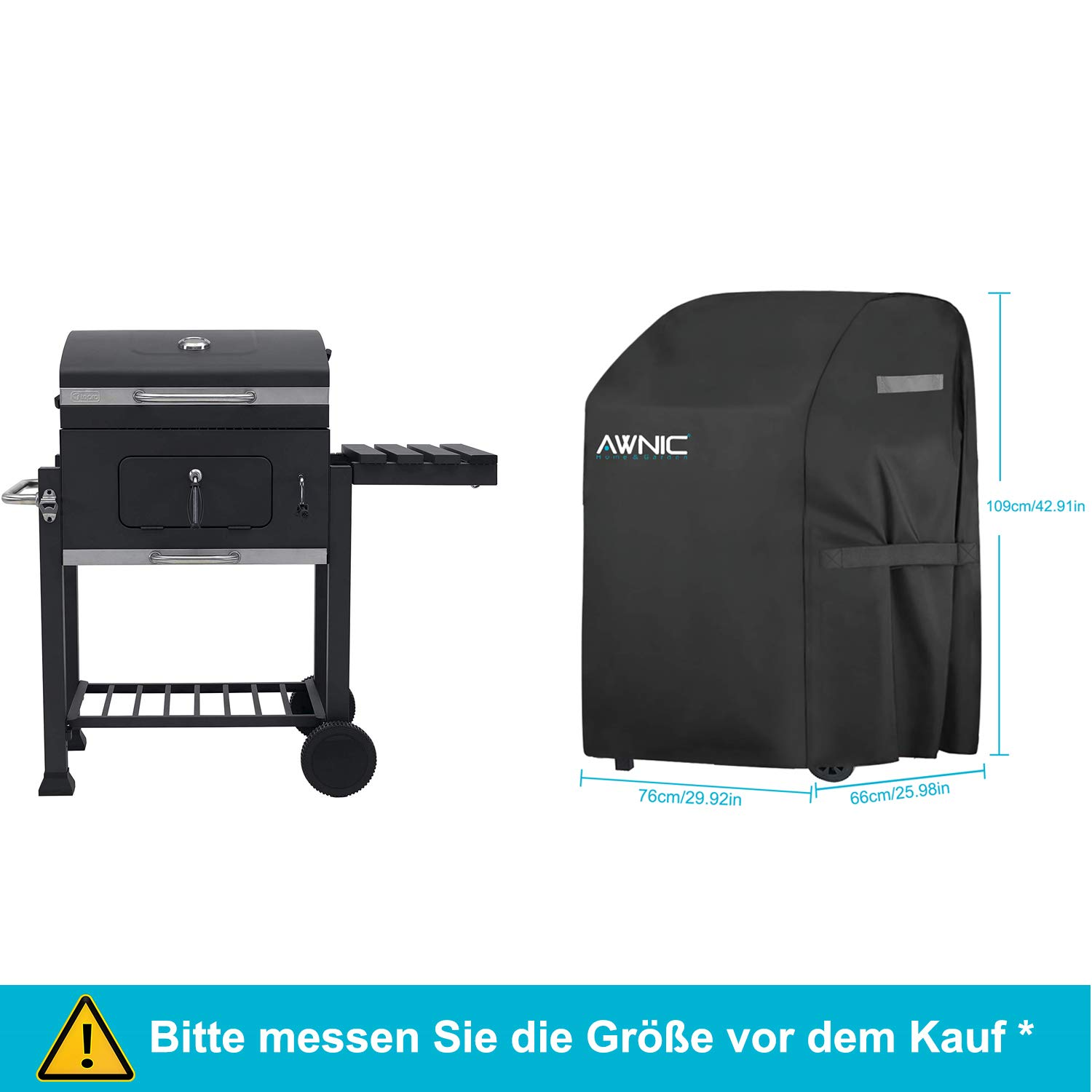 Grillabdeckung wasserdicht /& Staubdicht /& Anti-UV Outdoor BBQ Grill,...