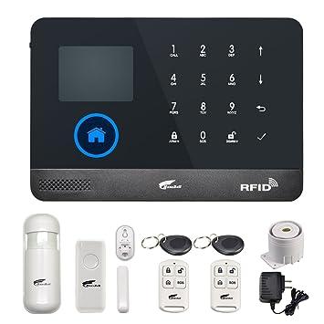 Hausbell Sistema de alarma de seguridad para el hogar ...