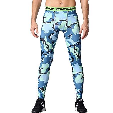YOJOLO Pantalones de compresión para Hombre, Mallas para Correr ...