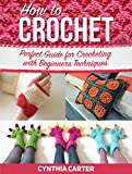 How To Crochet: Perfect Guide for Crocheting with Beginners Techniques (How to Crochet, how to crochet books, how to crochet for beginners)