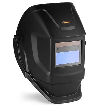 VonHaus máscara de Soldadura | Casco de oscurecimiento automático | Sensores de Filtro de Pantalla de