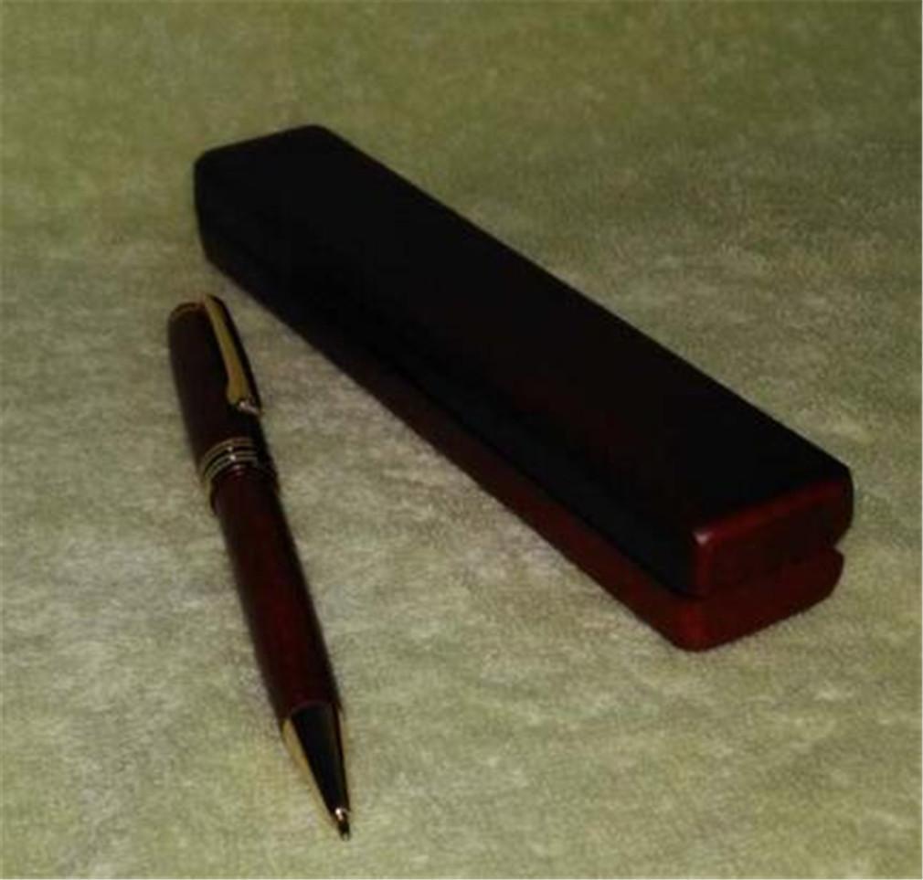 Zeichenwerkzeuge MTTLS Mahagoni Kugelschreiber atomaren Stift männliche und weibliche Business Office Studenten Worte gewidmet Geschenk Box üben Zeichnen