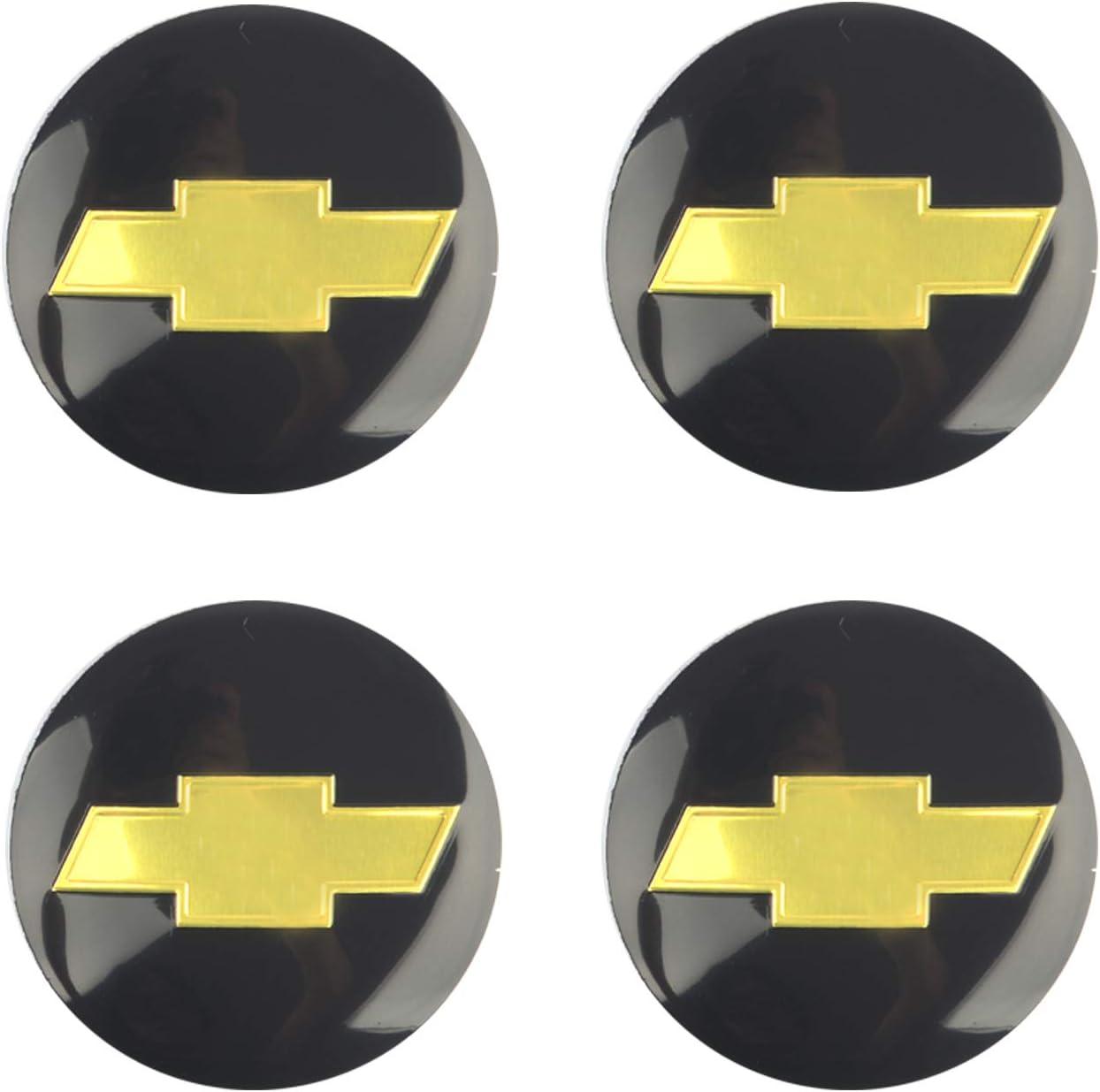 "4x Black Wheel Center Hub Cap Sticker Decal 2.2/"" DOME SHAPE Auto Car"