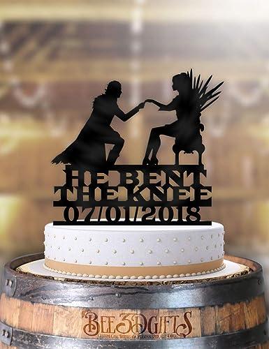 Prime Amazon Com He Bent The Knee Got Jon And Daenerys Medieval Funny Birthday Cards Online Overcheapnameinfo