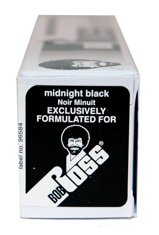 BobRoss R6104 150-Ml Artist Oil Color, Midnight Black