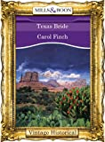 Texas Bride by Carol Finch front cover