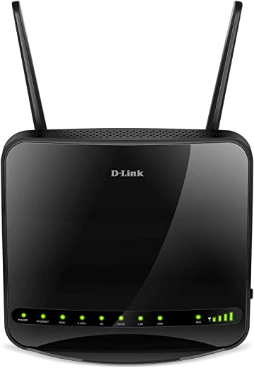 D-Link DWR-953 4G/3G LTE Unlocked Multi WAN Dual Band Wireless AC1200, Mobile Broadband Router with 4-Port Gigabit Ethernet