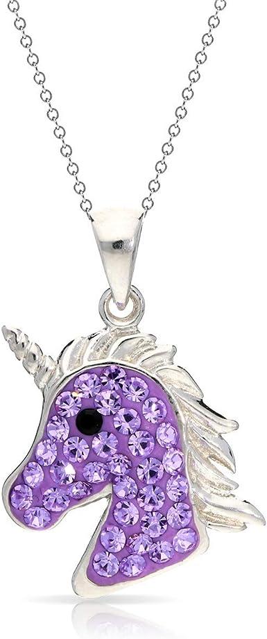 Unicorn crystal necklace Mythical Unicorn Unicorn pendant