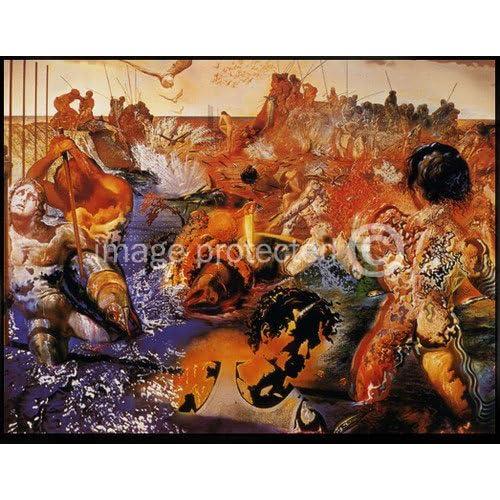 Amazon.com: Artist Salvador Dali Fine Art Poster Print of Painting ...