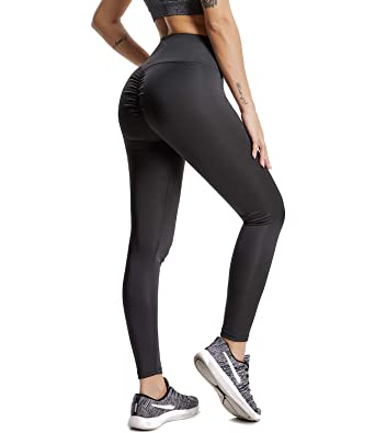 a5a4a26be2 CFR 2018 Sexy Women Ruched Fitness Leggings Butt Lift Yoga Pants Workout  Tights