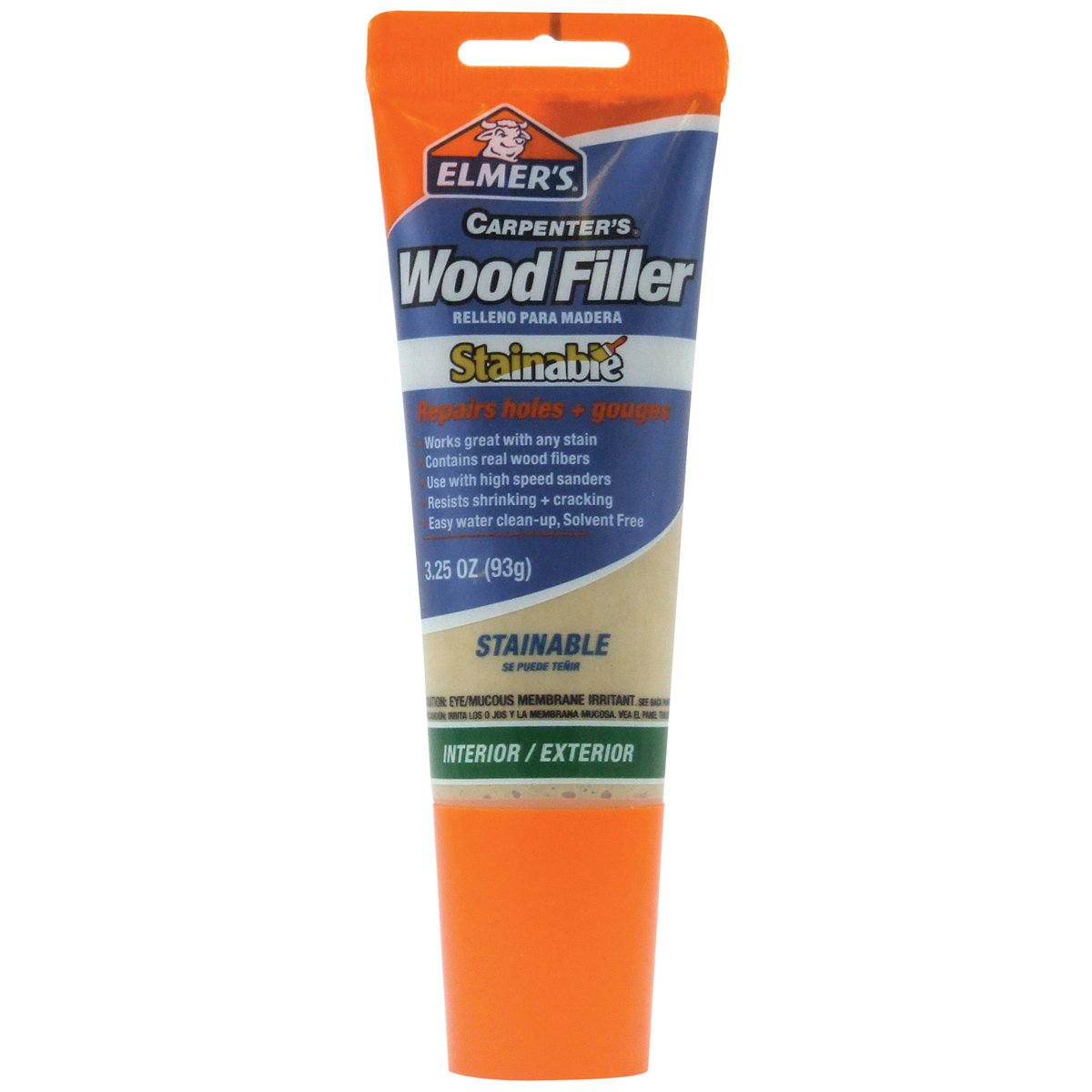 Elmer's E887Q Stainable Wood Filler, 3.25-Ounce