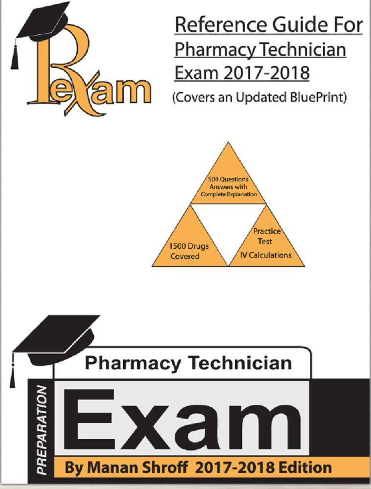 2017 2018 edition reference study guide for for the pharmacy rh amazon com Pharmacy Technician Exam Study Guide Pharmacy Technician Exam Study Guide