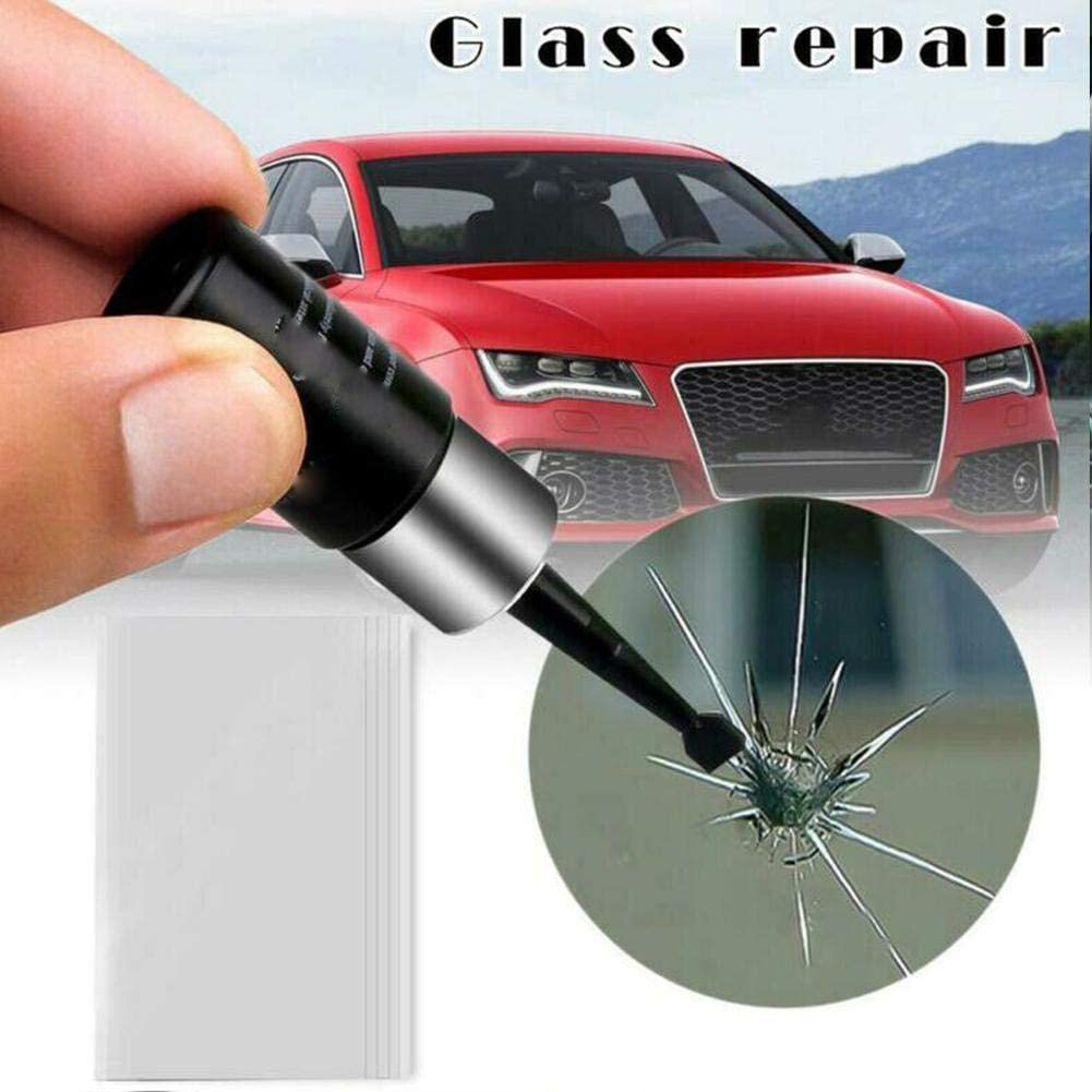 Dllma Automotive Glass Nano Total Repair Fluid Tool 2pcs Glass Crack Windscreen Repair Küche Haushalt