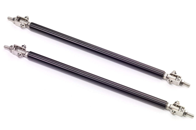 100-140mm CSR-Automotive CSR-ZB156 Universal Spoiler Stabilisatoren verstellbar 100-140mm Silber ZB156