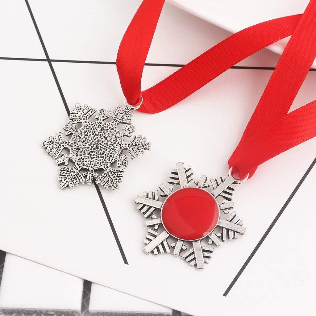 Huyiko No/ël Magique Santa Claus Porte-cl/és Santa Claus Porte Cl/é D/écoration Arc Ornements ulaires Cadeaux De No/ël