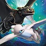 "Unique How to Train Your Dragon Party Napkins, 16Ct,, 6.5"" X 6.5"""