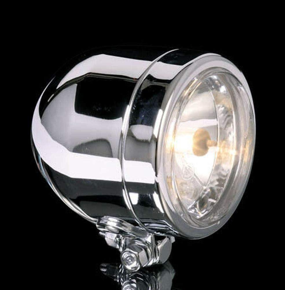 Shin Yo Chromscheinwerfer 90mm Mit Unterer Befestigung Abblendlicht Auto