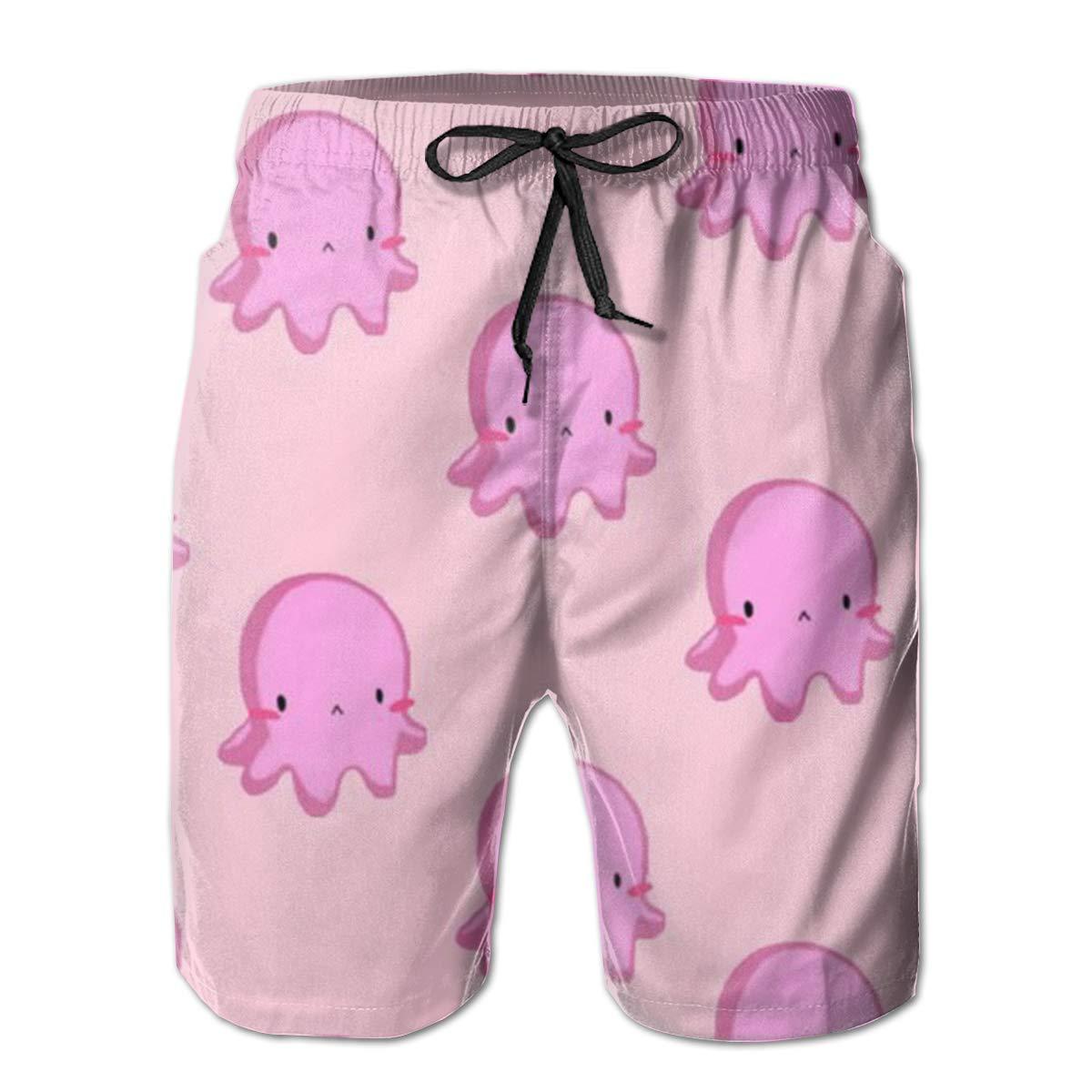 Mens Swim Trunks Octopus Quick Dry Board Shorts Bathing Suits Swimwear Volley Beach Trunks