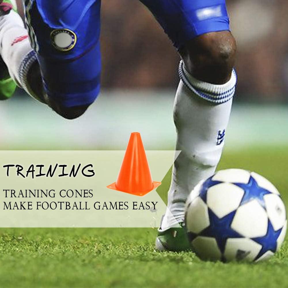 100PCS Multi-color Disc Cone Soccer Football Field Training Equipment Team Sport