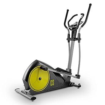 Capital Sports CROSS-1 Bicicleta elíptica Ergómetro Bluetooth (Pulsómetro, consumo calorías, frenos